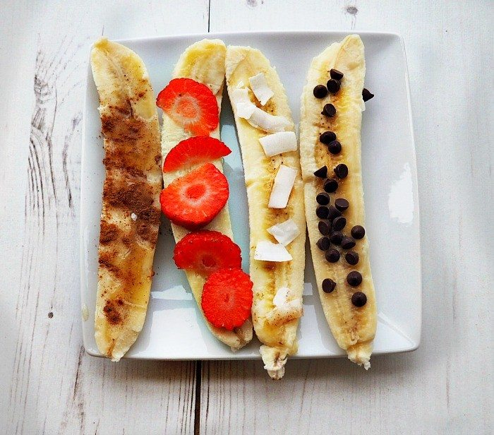 baked bananas, gluten free, dairy free, ibd deserts, crohn's disease deserts, FODMAPs deserts