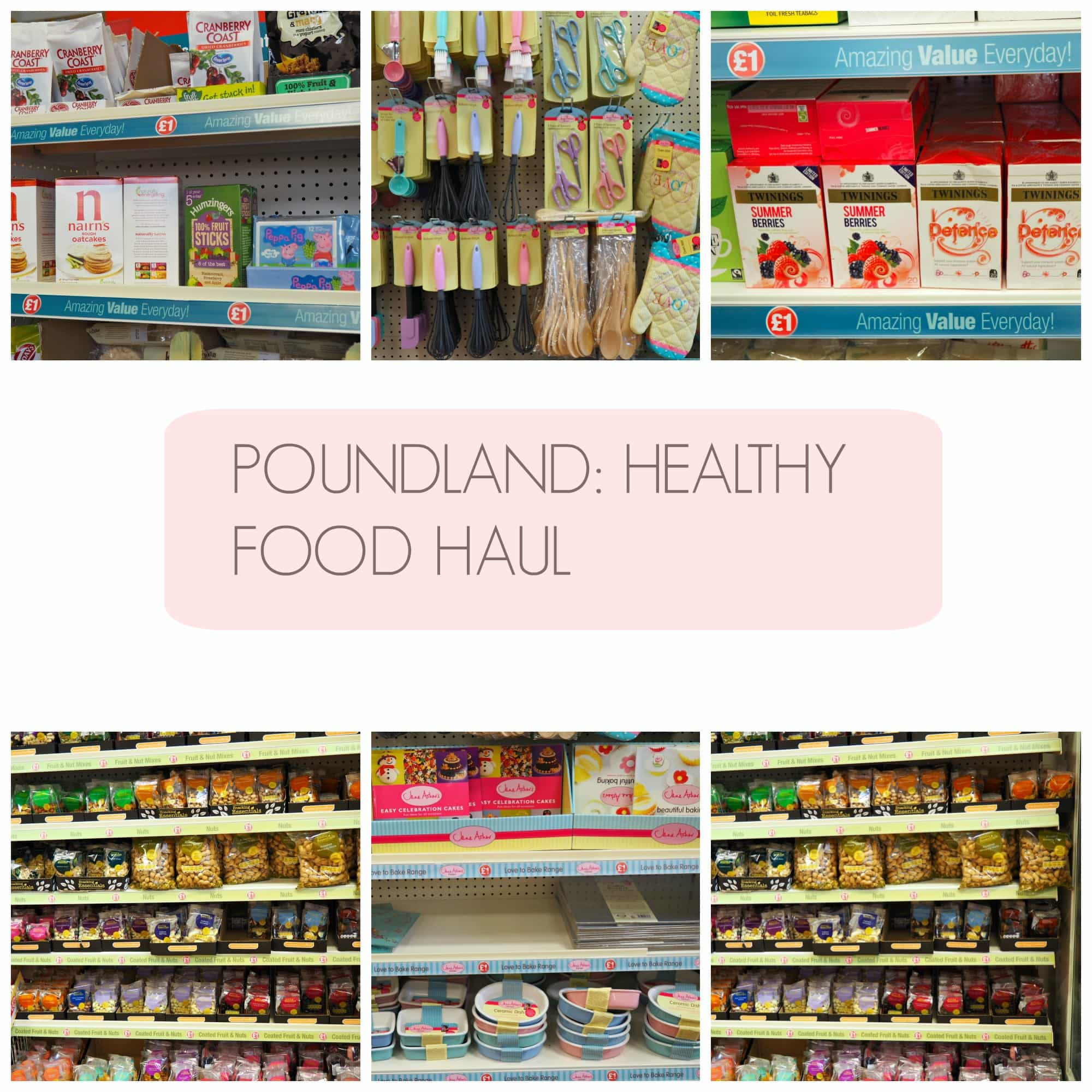 poundland healthy food, poundland gluten free, healthy eating poundland