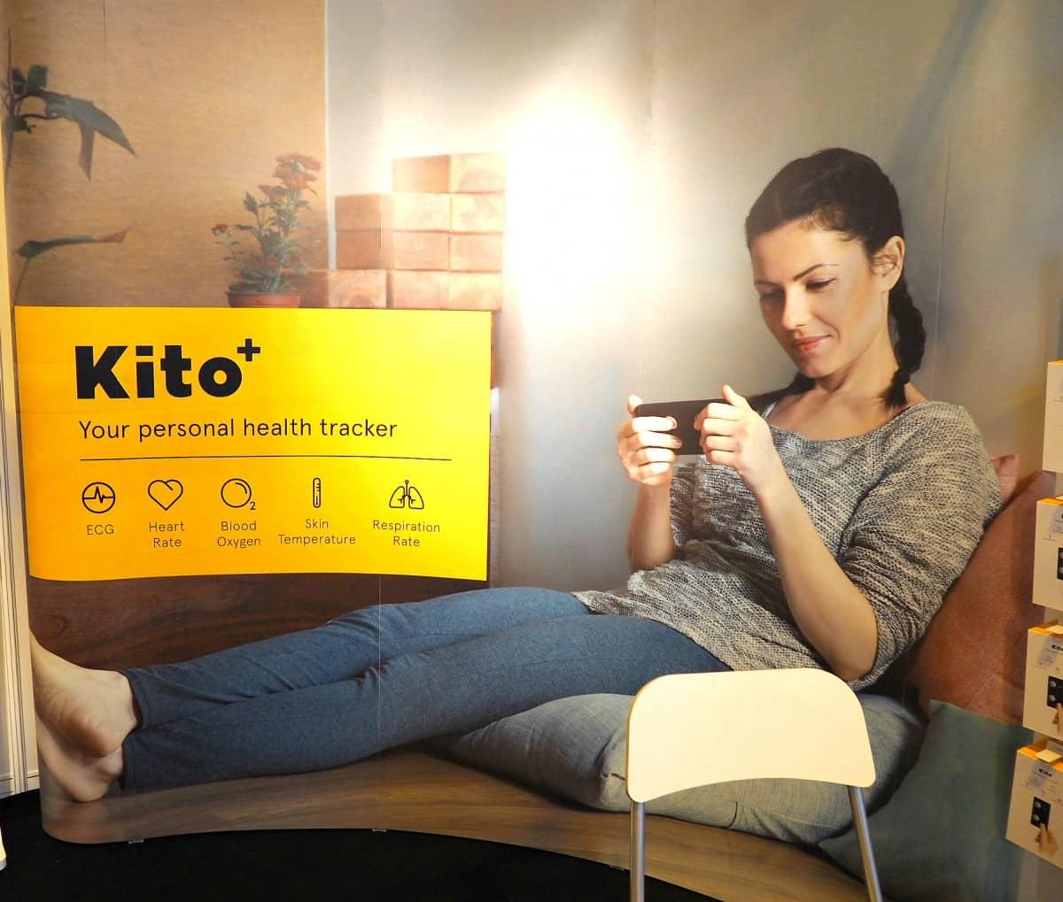 kito, kito+ gadget show, health tracker