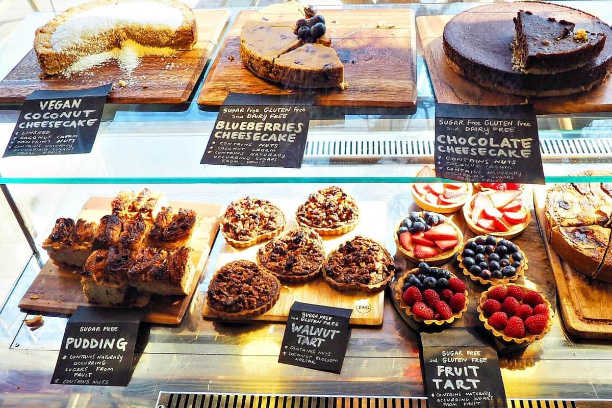 sugar free desert london, romeo's gluten free bakery, romeo's sugar free bakery, la polenteria, la polenteria review, gluten free london, gluten and dairy free london, free from london, gluten free pasta london, sugar free london, gluten free cake london, free from cake london, sugar free cake london.