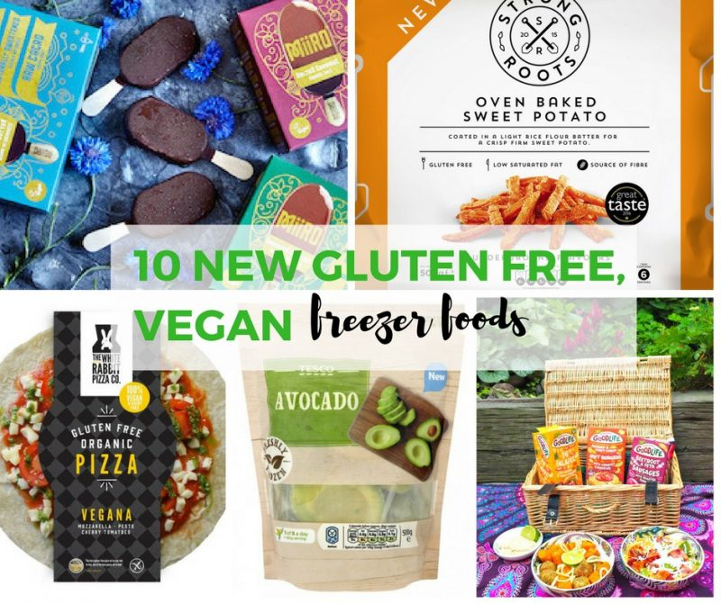 These new gluten free, vegan foods are perfect to pop in your freezer. Frozen gluten free and vegan foods.