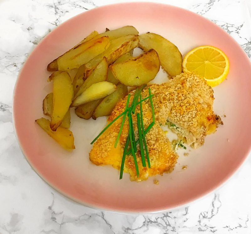 This gluten free chicken recipe is a perfect midweek dinner and a great alternative to normal chicken kievs.
