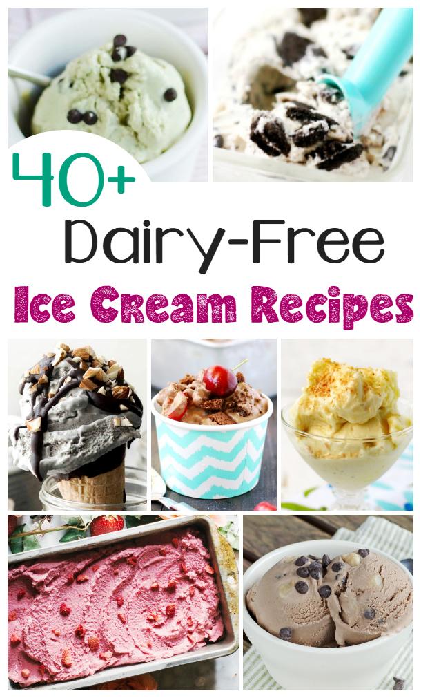 40 Dairy free ice cream recipes