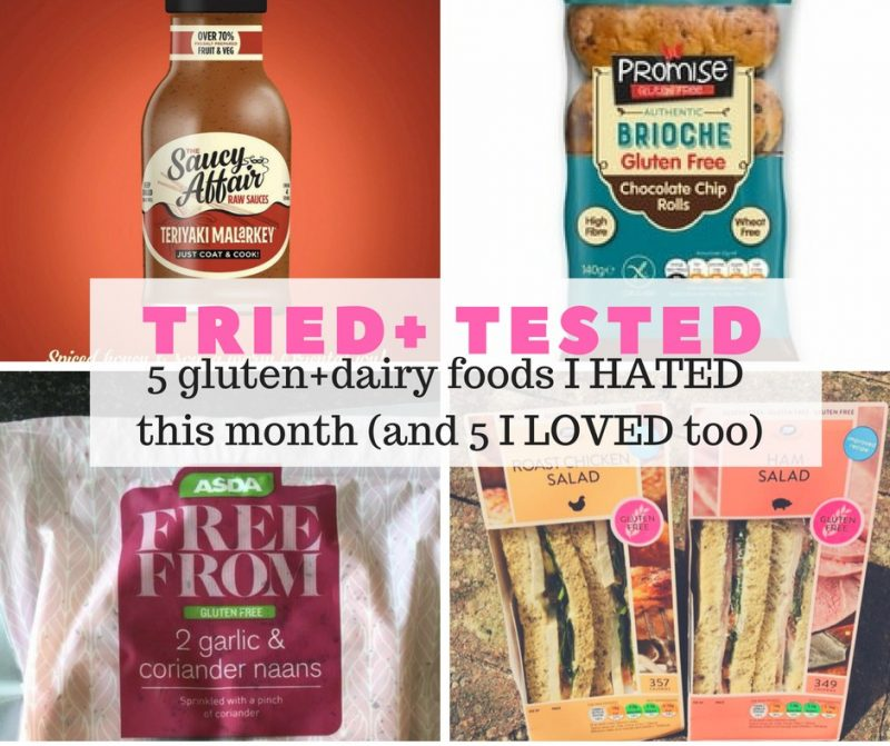 5 Gluten Free Products I Hated This Month And 5 I Loved Too